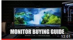 What Makes A Good Gaming Monitor?
